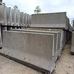 Looking for cement barriers