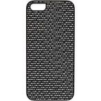 Ikins Weave Cover Silver Apple iPhone 5/5S