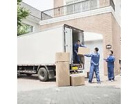 Van and man hire removals truck all London home office moves furniture transport house clearance