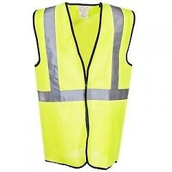 High-Visibility Yellow ECO-G Class 2 Safety Vest