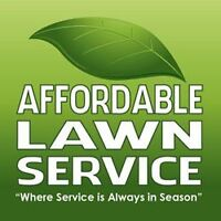 Affordable Lawn Service,  Where Service is Always in Season