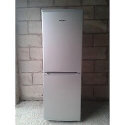 fridge freezer/bush/white/works fine