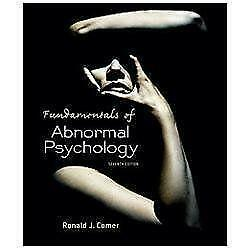Fundamentals of abnormal psychology books ebay fandeluxe Images