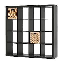 IKEA EXPEDIT Bookcase - Black Brown