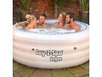 lay-z-spa. Jacuzzi. Hot tub