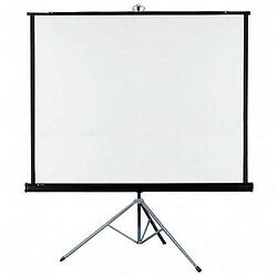 6-Ft-X-4-Ft-TRIPOD-TECHNOLITE-BRAND-PROJECTOR-SCREEN-A-GRADE