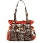 Kathy Van Zeeland Handbags Orange