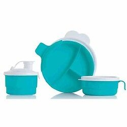 NEW* Tupperware Baby Stages Feeding Set