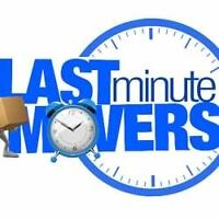Last Minute Movers Fully Insured & Bonded $55/hr @ 2264440331