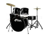 Full size Tiger drum kit