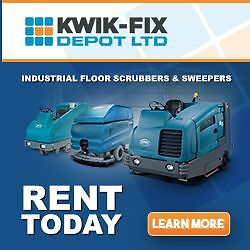 Floor Scrubber & Sweeper Rentals. New Models Delivered To You.