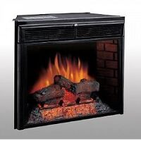 Chimney Free Electric Fireplace Insert with Heater