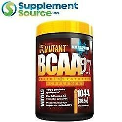 Mutant BCAA 9.7 (90 Servings), 1044g - Blue Raspberry