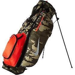 Nike Golf Sport Lite II Olive Camo/Silver Stand Bag