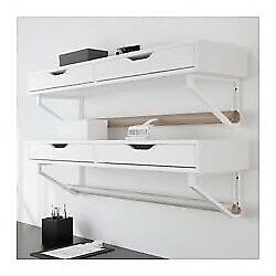 Ikea shelf with drawers ekby Alex