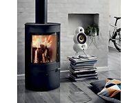 5 kw Woodburner pedestal stove- Westfire 21
