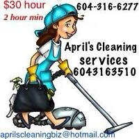 April's Cleaning Services - Approved by the City of Chilliwack