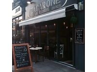 Waiter & Kitchen Porter wanted for full time position in authentic Italian restaurant, Putney
