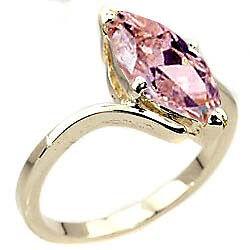 'Sheila' Pink Stone.  Size 10