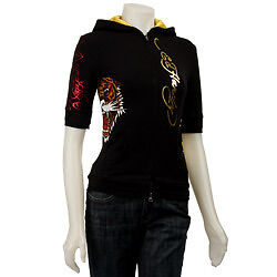 Ed Hardy Stretch Hoodie with Tiger West Island Greater Montréal image 2