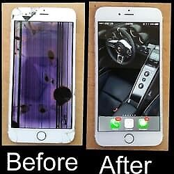 Replace your broken iPhone screen with AAA quality screen.
