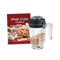015845 Vitamix Blender Dry Blade Container w/ Lid for Kneading Dough/Grinding Grains