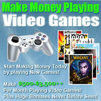 Wanted: Get Paid To Play Video Games!