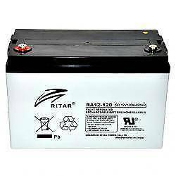 120AH AGM Deep Cycle Battery For Portable 12V Fridge Solar, 4WD Wangara Wanneroo Area Preview