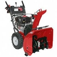 souffleuse briggs and stratton/ snow blower