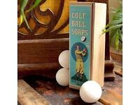 GOLF BALL SOAPS BY STING IN THE TAIL..................Brand New