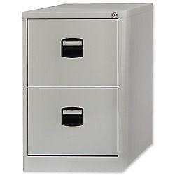 Perfect 2 Drawer Lockable Filing Cabinet