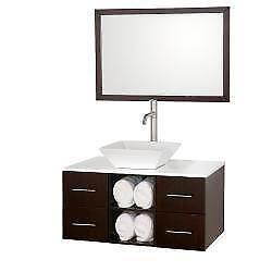 Modern Single Bathroom Vanity