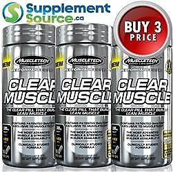 .MuscleTech CLEAR MUSCLE, 168 Caps x 3