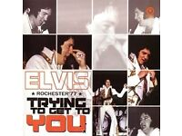 Elvis Trying To Get To You CD