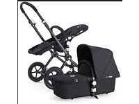 Bugaboo Chameleon limited edition all black set hardly used great condition with maxi cost car seat