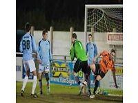 Clapham based football club seeks goalkeeper