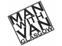 Man With a Van In Glasgow Removals Collection and Deliveries 2 Men for House moves or single Items