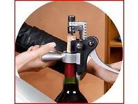 Lever Arm Rabbit Corkscrew Beer Wine Bottle Opener Tool Cork Set