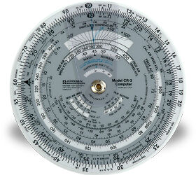 NEW-Jeppesen-CR-3-Circular-Computer-6-in-diameter-10001294-Flight-Computer