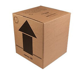 Strong Removal/Moving Boxes - double walled cardboard - USED -LARGE - SMALL