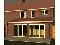Extension & Home Design and Drawing service, Covering Hampshire, Planning application service