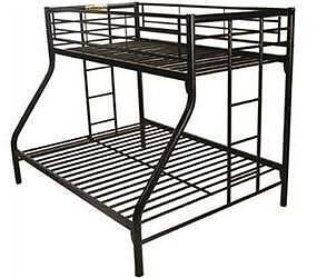 double bunk bed bottom single bunk bed top  new in box $269 Old Guildford Fairfield Area Preview