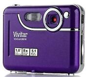 Purple Digital Camera