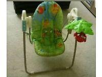 Baby rainforest swing/ rocker