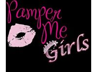 Pamper Me girls Birthday Parties