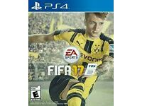 PS4 Fifa 17 £30 or swap bf1