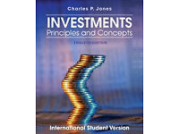 Investments Principles and Concepts By Charles P Jones