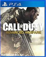 call of duty advanced warfare for ps4