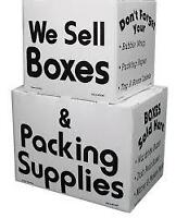 We sell BOXES & MOVING Supplies