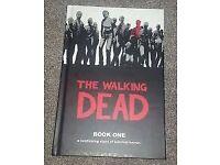 The Walking Dead graphic novel hardback book 1